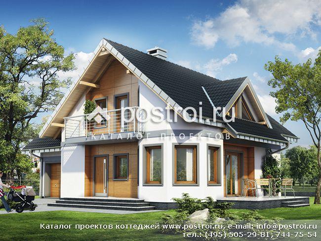 Проекты домов, загородных коттеджей, дач в Махачкале