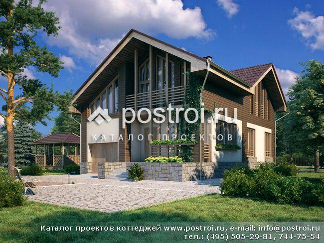 Дизайны домов 8 на 8