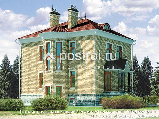 Жилой дом газобетон № C-155-1P