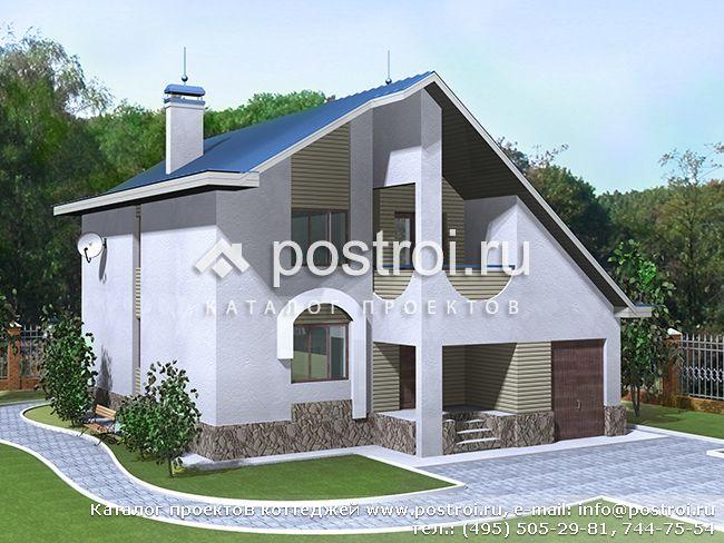 1.5 этажные дома фото
