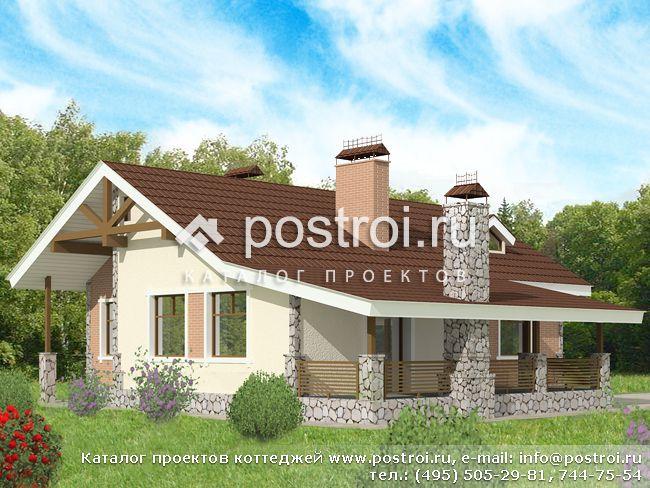 строительство одноэтажных кирпичных домов - Нужные схемы и описания для всех.