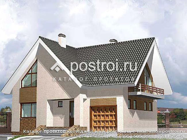 Простые проекты домов из пеноблоков для широкого круга потребителей и довольно масштабные проекты домов.
