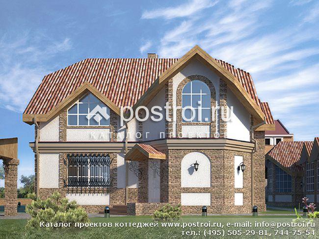 Проекты домов с мансардой мансардные коттеджи.