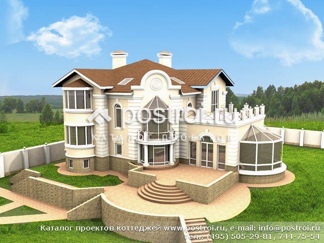 Проект дома с бассейном e 594 1k