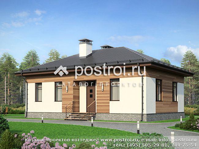 1-этажный дом до 100 м № F-083-2P