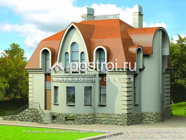 Проект коттеджей в классическом стиле
