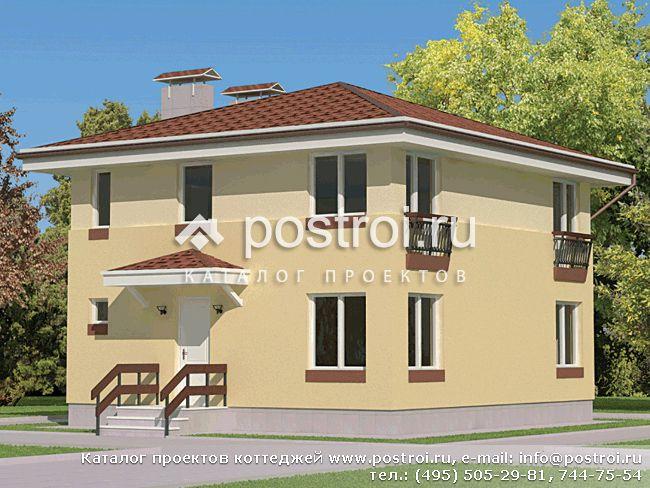 фото крыши двух этажных домов