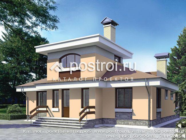 Проект 1-этажного дома с
