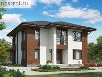 Проект пенобетонного дома № G-221-3P