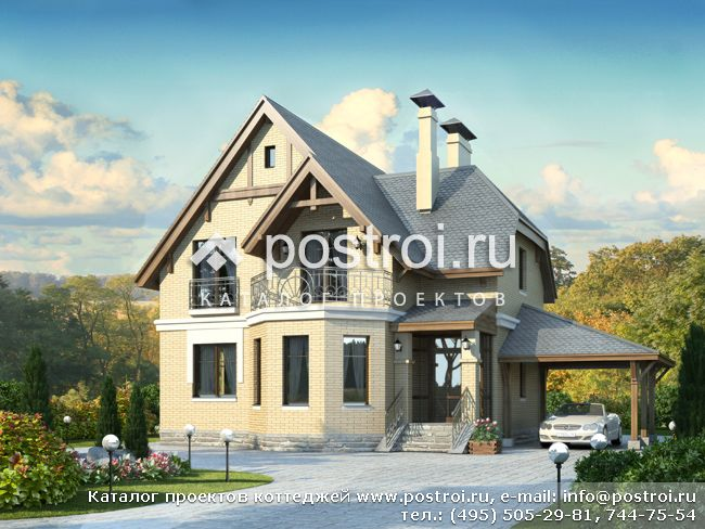 Проекты домов с двускатной крышей: готовые и типовые