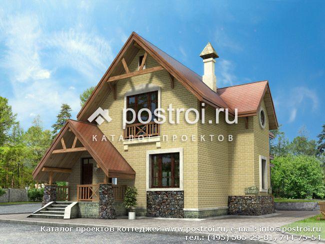 Частные кирпичные дома