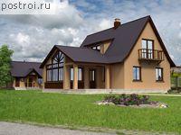 Проекты одноэтажных домов с мансардой.