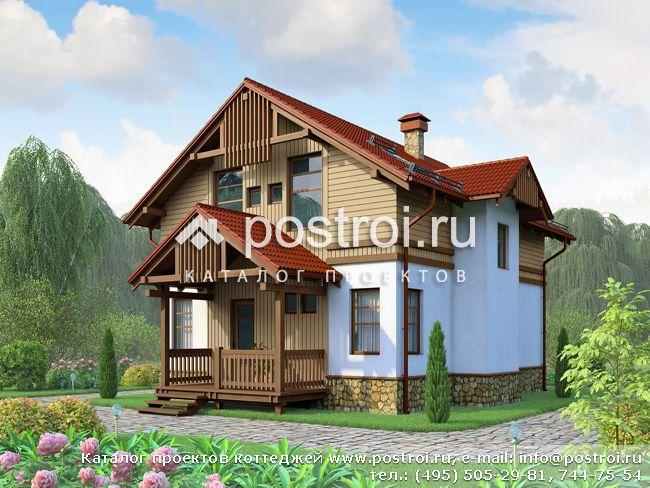Каркасный дом 9 на 10 № H-155-1S