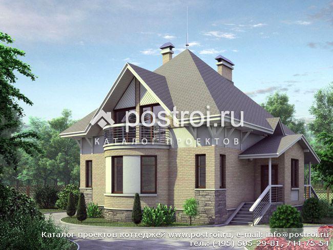 Проекты домов – арболит в основе конструкции дает массу