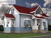 Каркасный дом, площадь 199 м2