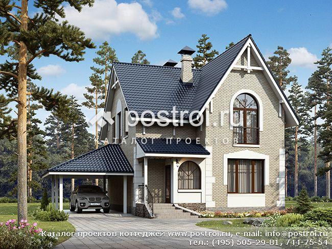 Услуги - Проекты домов, коттеджей и дач Строительство в