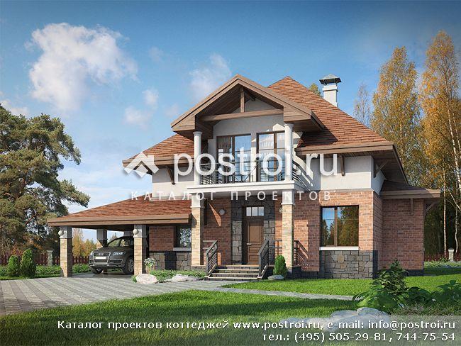 Проекты домов 200 к/м