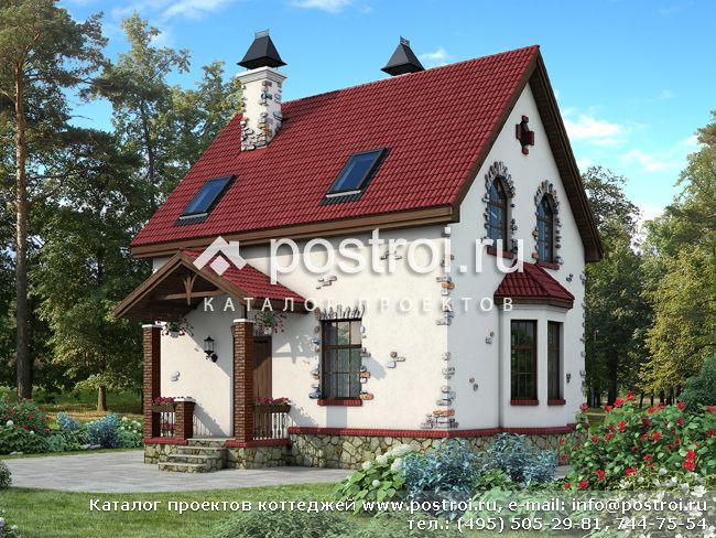 Типовой проект каркасного дома № M-100-1S