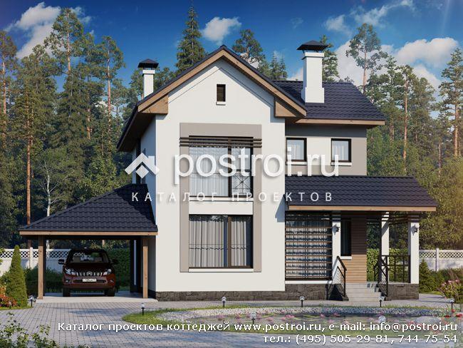 Проекты домов из пеноблоков и пенобетона до 150 м2