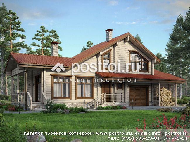 Проект дома для отдыха № M-151-1D [M136 (12-41)]
