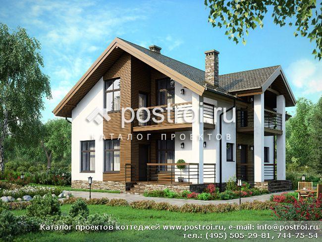 Проекты домов и загородных коттеджей: купить дизайн
