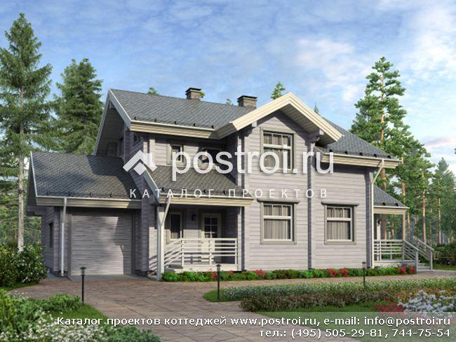 Проект индивидуального жилого дома № M-177-1D [M137 (12-42)]