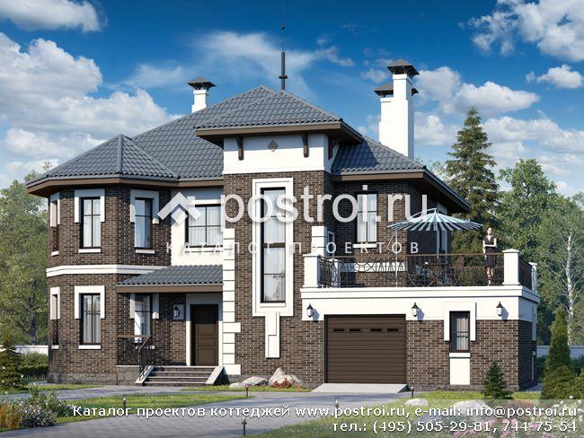 Строительство и отделка коттеджей в Москве