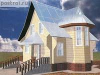 Проект дома 8 на 6 № N-084-1D