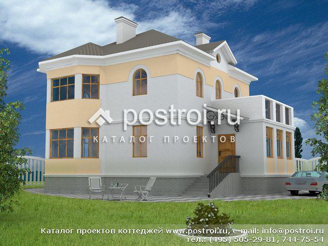 Дом проект дома из блоков кирпича дк