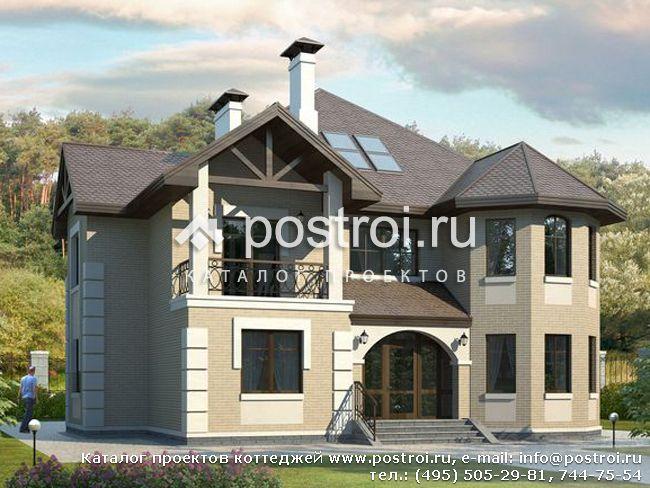Проекты домов из пеноблоков и