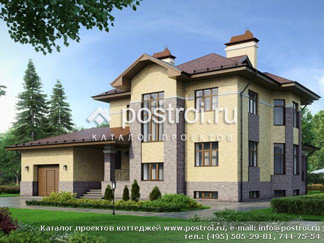 Проект дома с тренажерным залом и