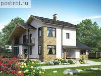 Проект с сауной и спальней на первом этаже № O-165-1K