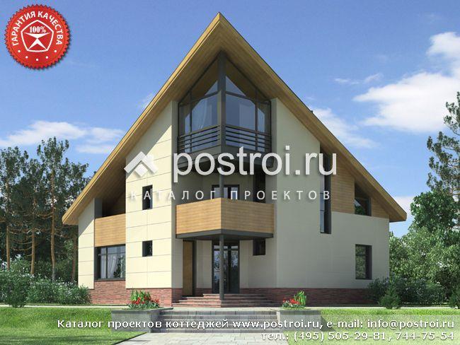 Трехэтажный дом 13 на 13 № O-231-1K