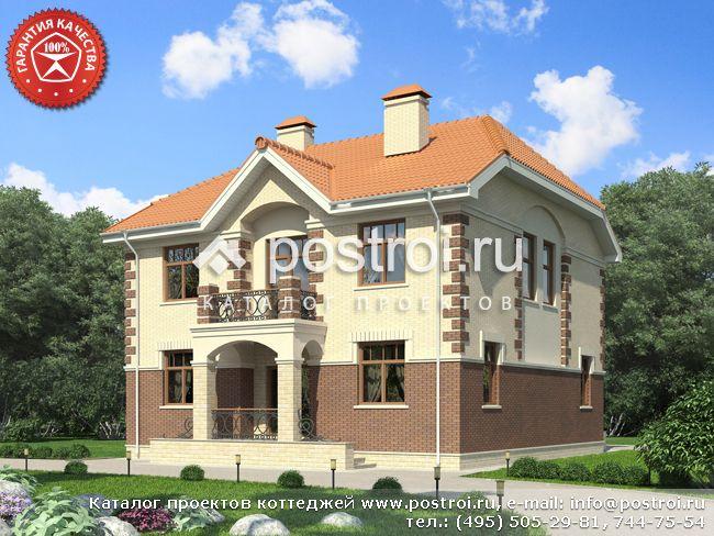 Проект дома 2 этажа № O-249-1K