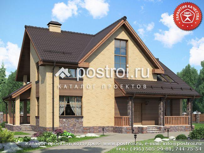 Проект дома 16 на 14 № O-259-1K
