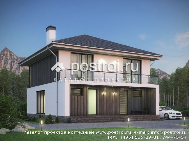 Проекты деревянных домов - trypillyacom
