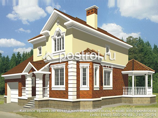 Проекты домов на две семьи