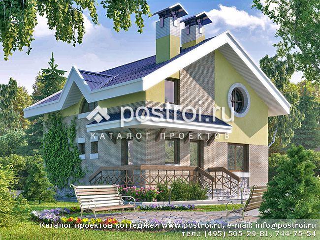 Проект дома из пеноблоков Я 208-8, 138 кв.м