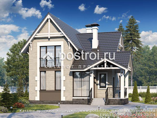 Дизайн маленького дома — Идеи для дачи