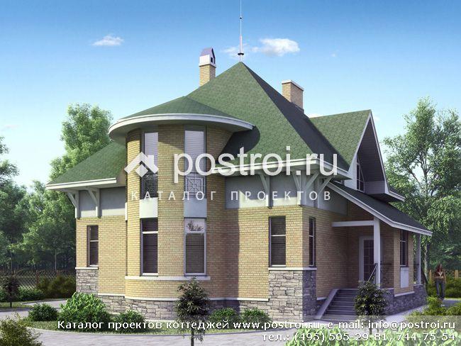 Проекты домов с гаражом и верандой