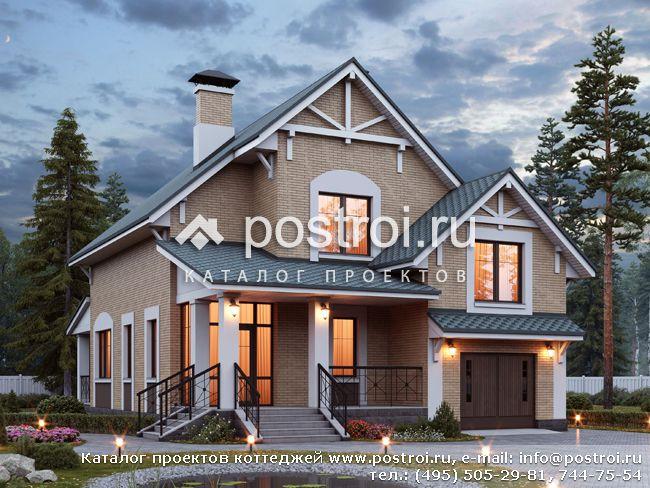 Проекты дачных домов из пеноблоков: строим легко и быстро