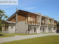 Проект квадрохауса № t-563-1P