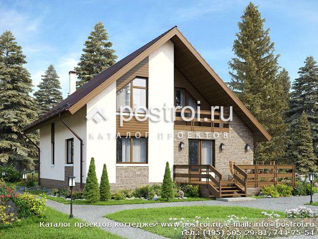 Проекты домов из пеноблоков и пенобетона от 150 до 250 м2