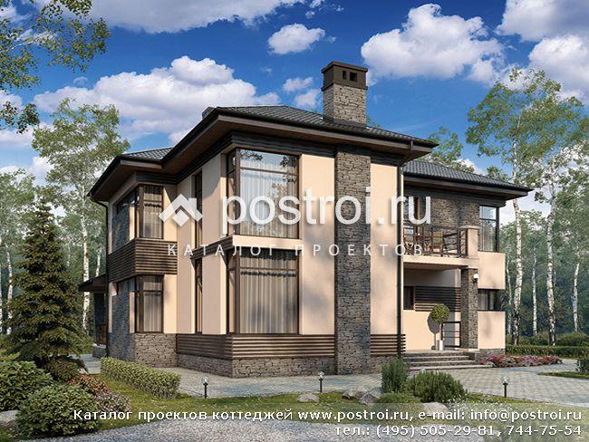 Дома с панорамными окнами № u 202 1p