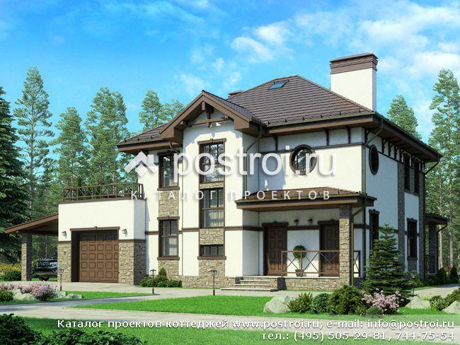 Проекты домов с гаражом - Заказать проект дома, проекты
