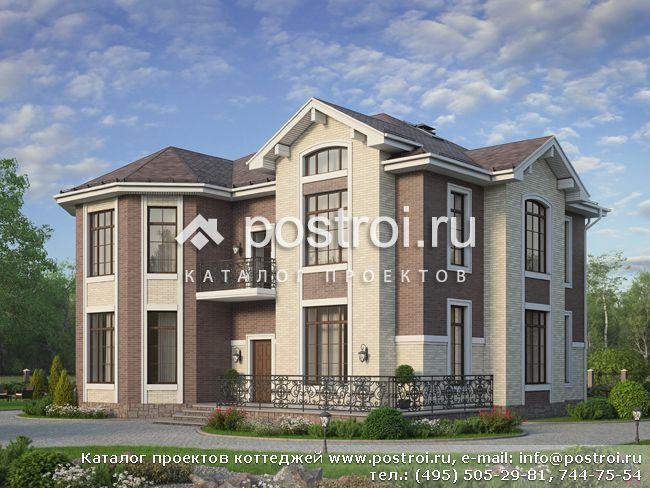 Частный дом для большой семьи, проект № U-304-1K