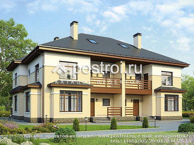 Проекты домов с гаражом - ml-stroyru