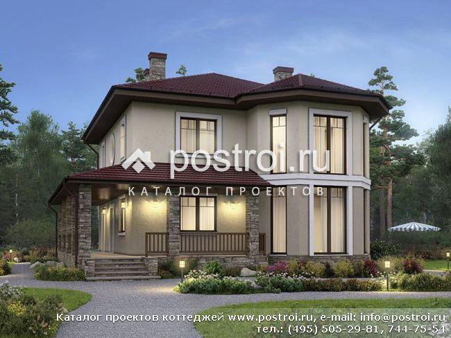 Проекты одноэтажных домов и коттеджей - Движущая Сила
