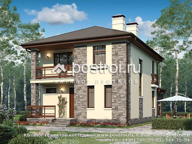 Дом с цоколем 79