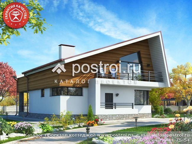 Проект дома 11 на 14 № W-189-1P